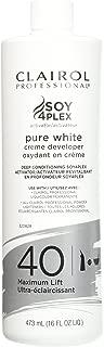 Clairol Pure White 40 Creme Developer Maximum Lift 16oz, 16 Oz
