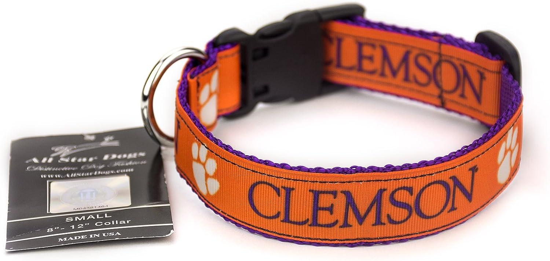 Clemson Dog Collar Medium
