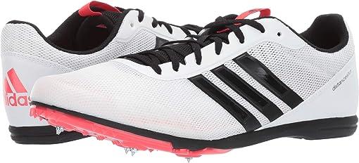Footwear White/Core Black/Shock Red