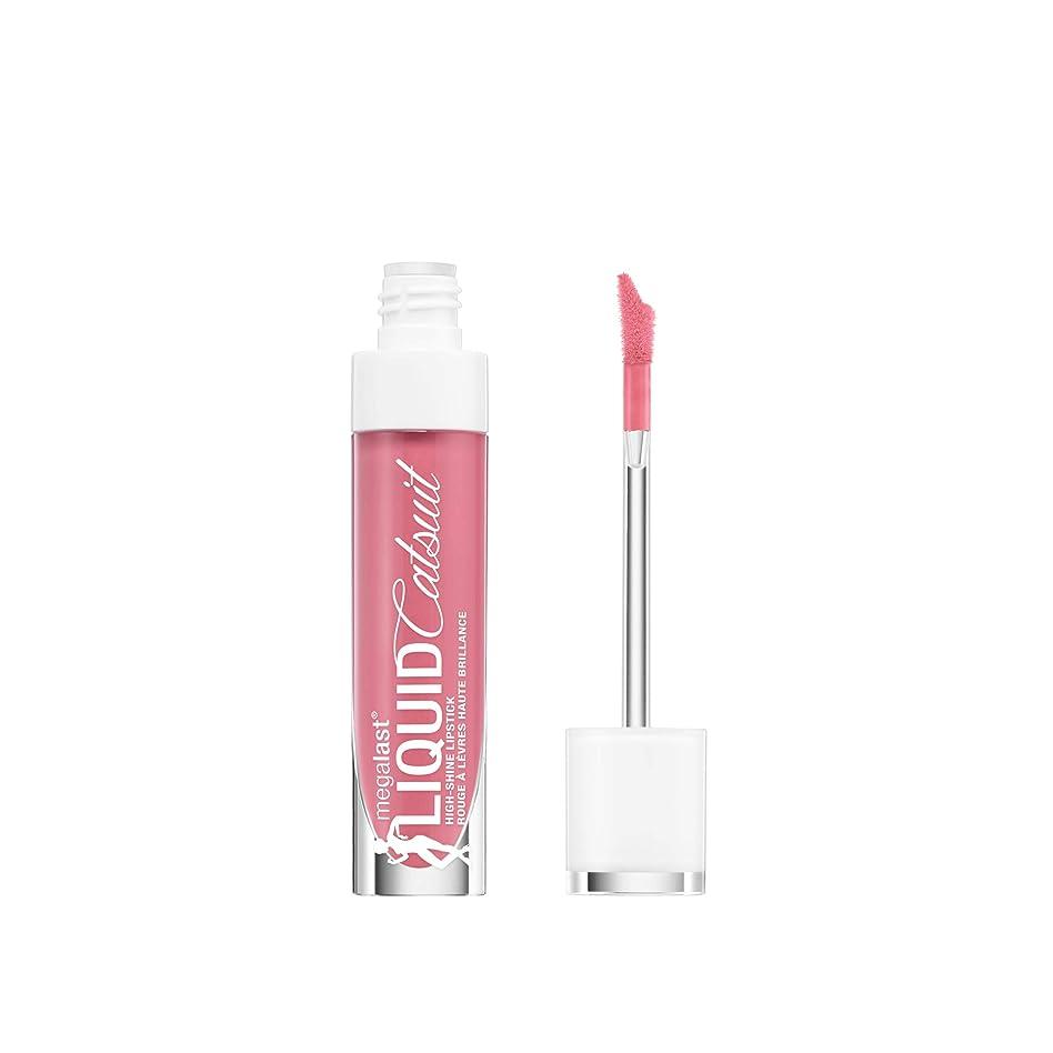 寝具章栄養WET N WILD MegaLast Liquid Catsuit High-Shine Lipstick - Flirt Alert (並行輸入品)