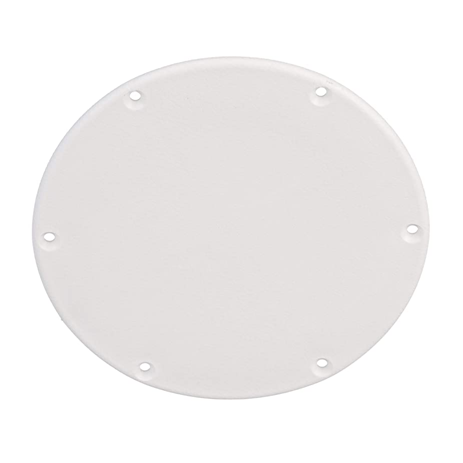 SEACHOICE 39591 Mounted Boat Plate Cover, Arctic White Finish, up to 6 Inches aeqyyt5397982