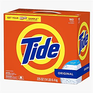 Ultra Tide He Powder Laundry Detergent, Original - 225 Oz. - 160 Loads Ultra he Powder Laundry