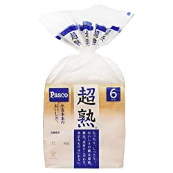超熟 6枚スライス[到着日+1日 賞味・消費期限保証]