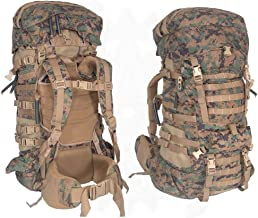 Military Outdoor Clothing Never Issued U.S. G.I. USMC MARPAT Large ILBE Complete Field Pack with Lid and Hip Belt
