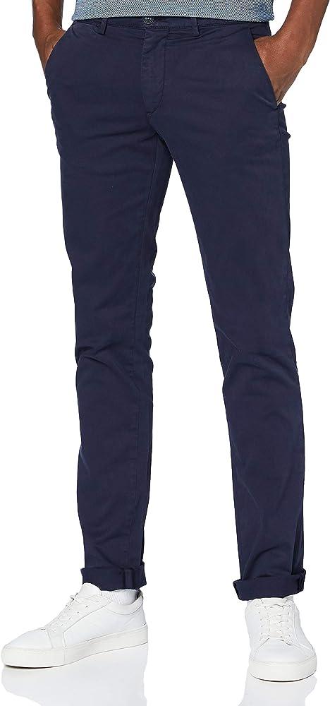 Trussardi jeans, pantaloni casual per uomo,in cotone al 98 % 52P000001T004408