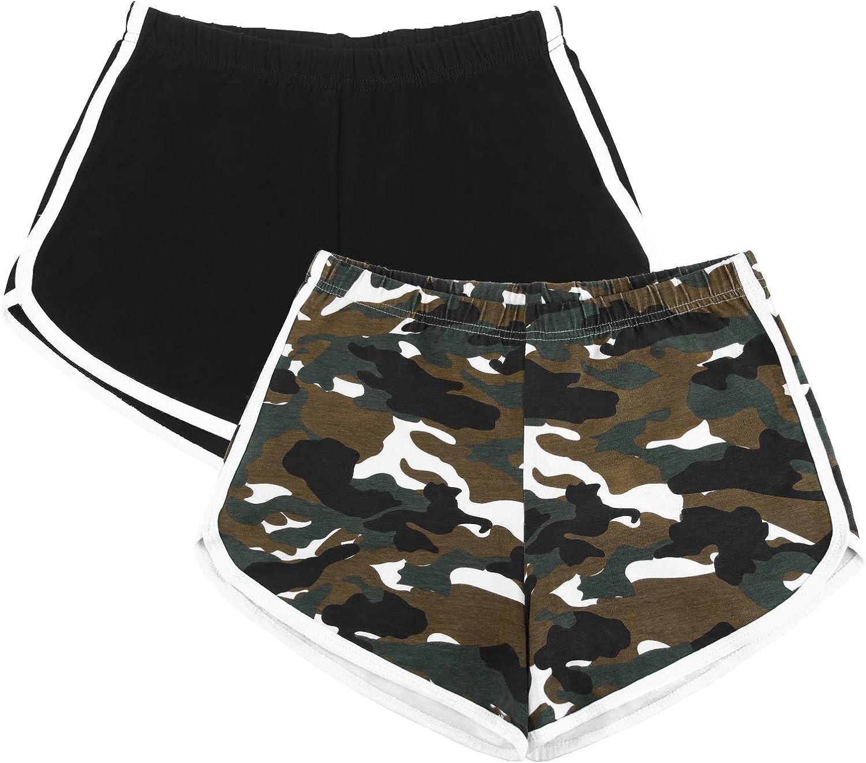 URATOT 2 Pack Yoga Short Pants Wo Shorts Max 75% Free Shipping New OFF Athletic Running Summer
