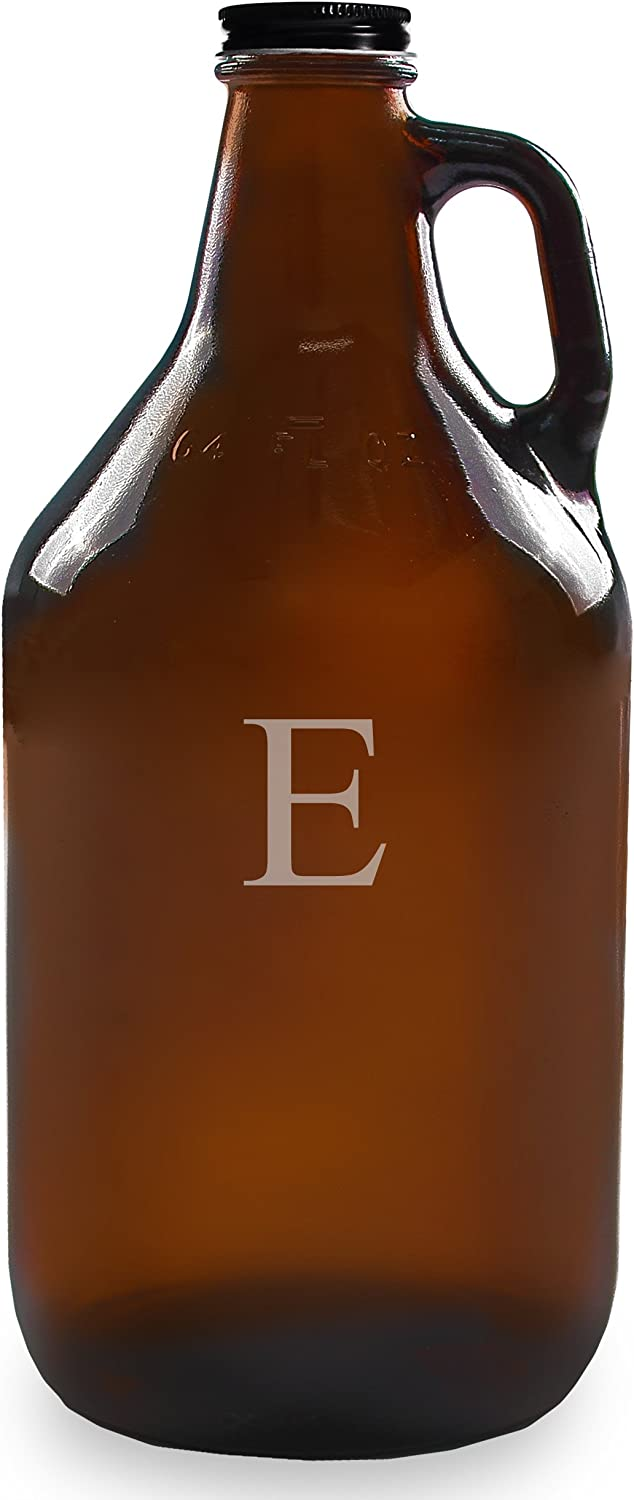 Be super welcome Cathy's We OFFer at cheap prices Concepts Personalized 64oz Letter E Amber Growler