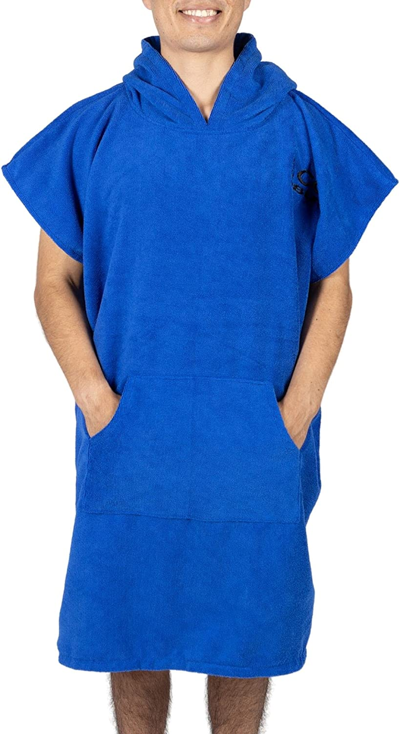 Cor Max 67% OFF Surf Poncho Changing Towel Robe Pocket with Hood Front Denver Mall and