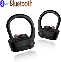 Wireless Earbuds, Bluetooth 5.0 Headphones True Wireless HD Stereo Sound Earbuds, in-Ear Headset 24h Playtime with Built-in Mic Portable Charging Case