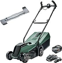 Bosch Cordless Lawnmower CityMower 18 (18 Volt, 1x battery 4.0 Ah, cutting width: 32 cm, lawns up to 300 m², in carton pac...
