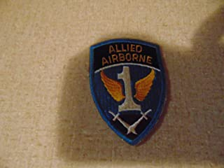 Military Patch SEW ON Allied Airborne Colored