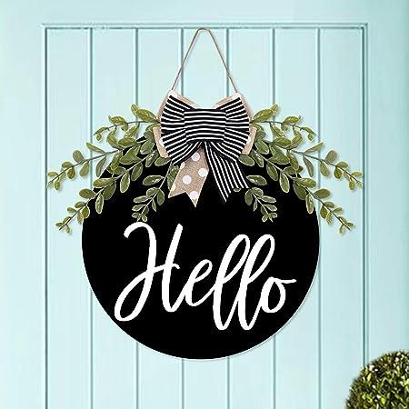 Farmhouse decor farmhouse sign welcome sign wreath attachment wreath decor wreath center wreath supplies craft supplies sign wreath embellis