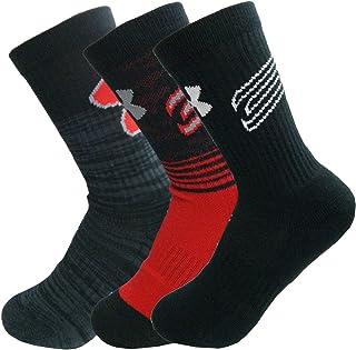 UNDER ARMOUR アンダーアーマー キッズ ジュニア スポーツソックス 子供用靴下 3足セット 約21~23cm