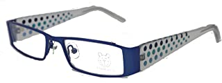 Blue Spotty Childrens Designer Optical Glasses Frame Fashion - FB140