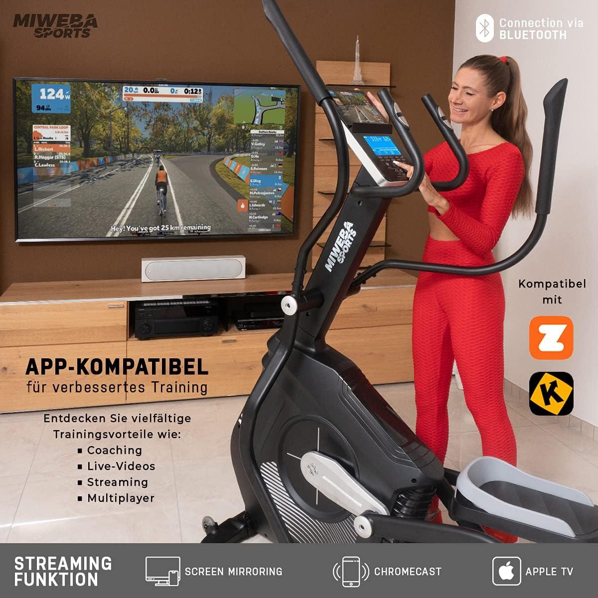 Miweba Sports Crosstrainer MC700 - App-Konnektivität
