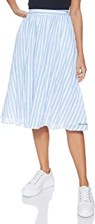 Tommy Jeans Women's Tjw Summer Stripe Skirt