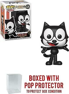 POP! Funko Felix The Cat: Felix The Cat - Vinyl Figure 526 + Bundled w Box Protector CASE