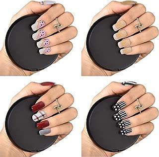 Bonjour Paris False Nails - Quick Stick Artificial Nail Set with Glue - 51% Discount, Pack of 4
