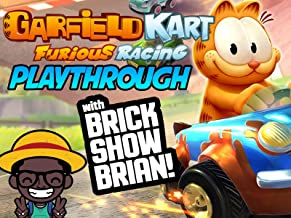 Garfield Kart Furious Racing Playthrough With Brick Show Brian