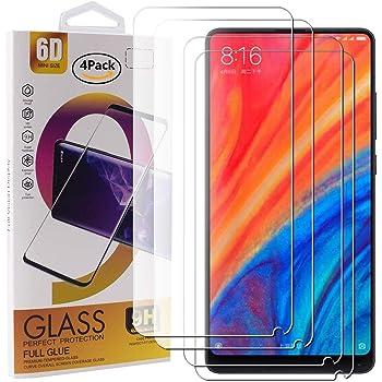 BESTCASESKIN [2-Pack Protector Pantalla Xiaomi Mi Mix 2S, Cristal ...