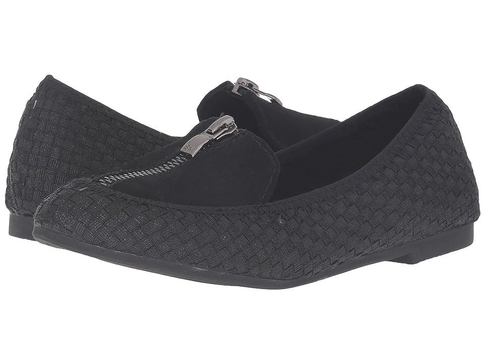 6b8527935cf928 Alicia (Black Metallic) Women s Flat Shoes