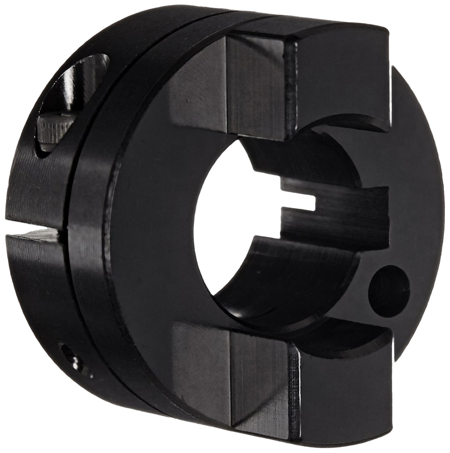 Ruland OCT21-10-A Oldham Coupling Hub Clamp Black Fresno Ranking TOP2 Mall Anodiz Style