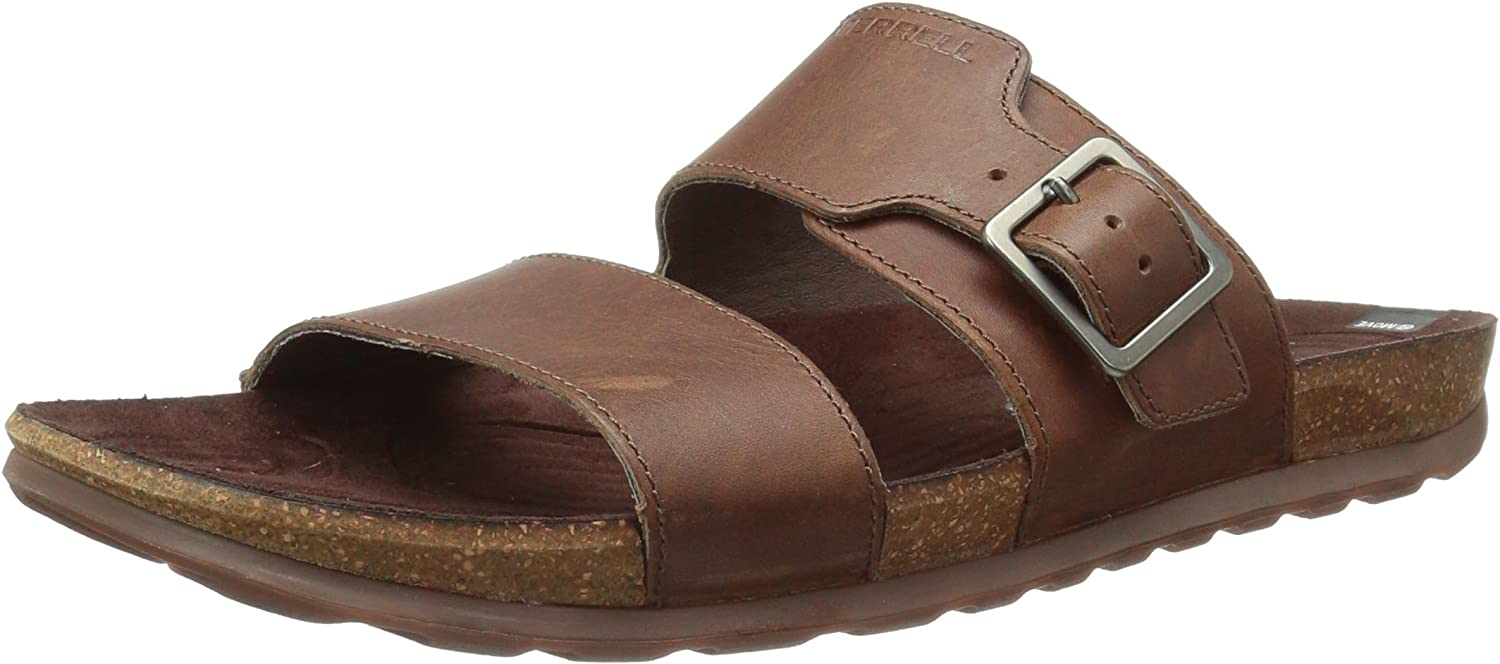 Merrell Mens Downtown Slide Buckle Fashion Sandals