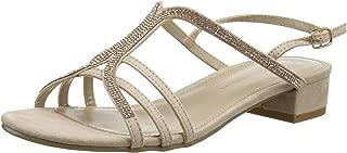 Sweep Jewelled Mini Block Sandal, Sandalia con Pulsera para Mujer