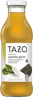 Tazo Jasmine Green Iced Tea, 13.8 Ounce Glass Bottles, 8 Count