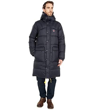 Fjallraven Expedition Long Down Parka (Black) Men