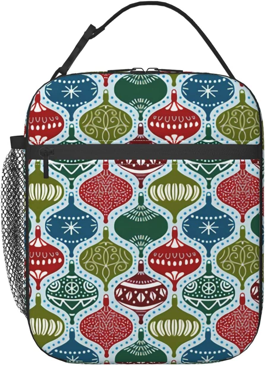 Christmas Max 44% OFF Ornaments Lunch Bag Adult Discount is also underway Re Water Box Insulated