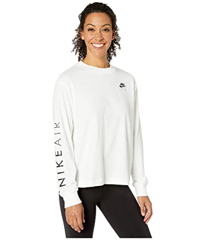 Nike NSW Air Top Long Sleeve (White) Women