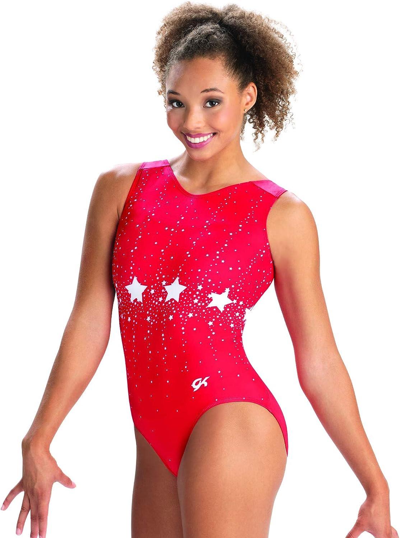 GK Girls Gymnastics Leotard Show Discount mail order Max 88% OFF V-Neck Tank