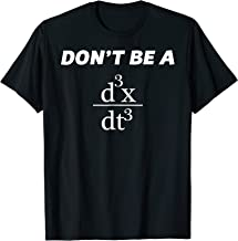 Don't Be A Jerk T-Shirt | Funny Math - Scholar Teacher Nerd