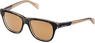 نظارة شمسية نمط مربع للجنسين من ديزل - DL0160-52-20-145 ملم، مقاس 140 ملم