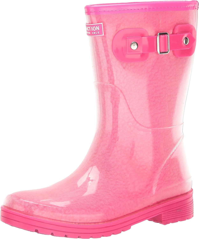   Kenneth Cole REACTION Women's Rain Buckle Cozy Boot   Rain Footwear