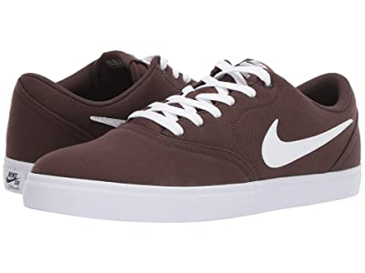 Nike SB Check Solar Canvas (Baroque Brown/White/Baroque Brown) Men