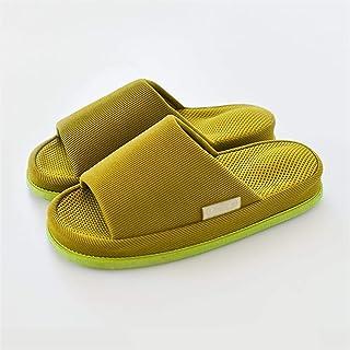 YAOLUU Summer Slippers EVA ACUPOint Masaje Slippers Spring y Autumn Parejas Indoor Home Shoes Hombre Casa de los Hombres P...