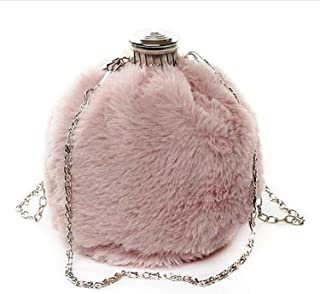 Welcome the good future luxury handbags women bags designer perfume bottle literary lady small cute personality single shoulder Messenger bag,Pink,12cm