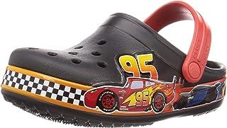 Crocs Kid's Crocs Kid's Disney and Pixar Cars Clog|Water Shoe for Toddlers, Boys, Girls Shoe, Black, C8 M US Toddler