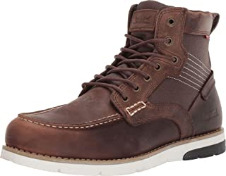 Levi's Mens Dawson Lux Leather Casual Lace-up Boot
