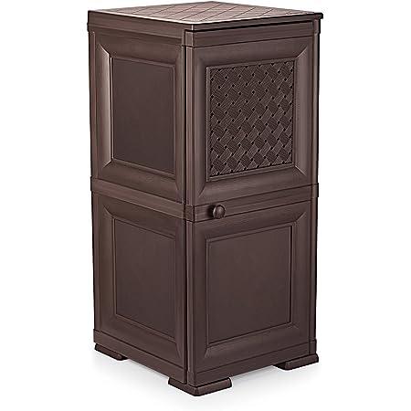 Cello Infiniti Mini 2 Storage Cabinet Net (Brown)