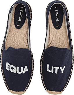 0089d47a614 Midnight Blue. 19. Soludos. Equality Smoking Slipper.  52.99MSRP   75.00.  Natural Arrow Embroidered Mesh