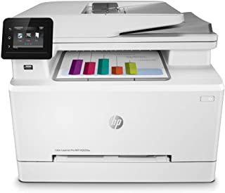 $449 » HP Color LaserJet Pro M283fdw Wireless All-in-One Laser Printer, Remote Mobile Print, Scan & Copy, Duplex Printing (7KW75A...