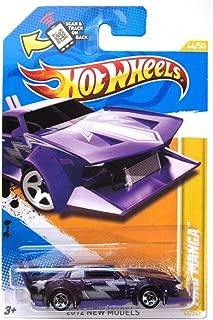 Hot Wheels 2012 New Models 44 / 50 # 044 Mad Manga Purple