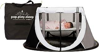 Cuna de Viaje para bebé Aeromoov plegable e instantánea con colchón configurable a dos alturas y bolsa de transporte (color gris oscuro)