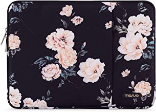 C COABALLA Watercolor Decor Japanese Flower Circle Laptop Sleeve Case Protective Cover Portable Computer Carrying Bag Pouch for Laptop AM033376 13 inch//13.3 inch