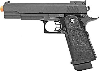 BBTac Airsoft Pistol 1911 G6 Airsoft Gun Spring Powered 300 FPS, Metal Alloy Construction