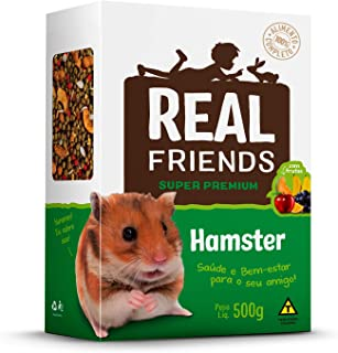 Real Friends Hamster com frutas - 500 g