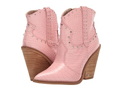 Sam Edelman Iris 2 (Canyon Pink Kenya Croco Embossed Leather) Women